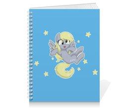 """Тетрадь на пружине """"My little pony (Derpy)"""" - мультфильм, mlp, derpy, для детей, мой маленький пони"""
