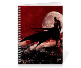 "Тетрадь на пружине ""Бэтмен"" - комиксы, batman, бэтмен, dc comics, готэм"