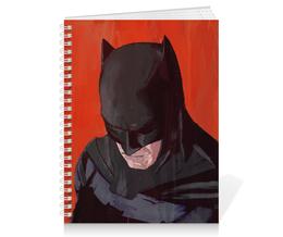 "Тетрадь на пружине ""Бэтмен"" - комиксы, batman, бэтмен, dc comics, batman vs superman"