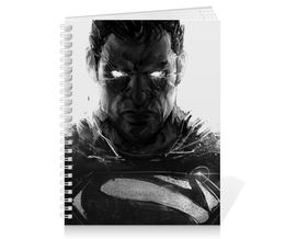 "Тетрадь на пружине ""Супермен (Superman)"" - комиксы, супермэн, dc comics, супс"