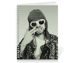 "Тетрадь на пружине ""Курт Кобейн"" - курт кобейн, kurt cobain, музыка, нирвана, nirvana"