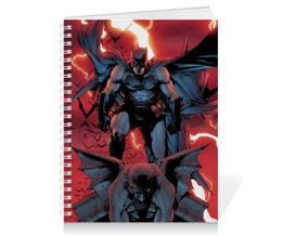"Тетрадь на пружине ""Бэтмен"" - комиксы, batman, dc, dc comics"