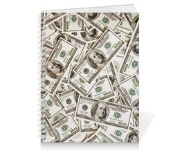 """Тетрадь на пружине """"American Dollars"""" - арт, стиль, дизайн, графика, фотография"""