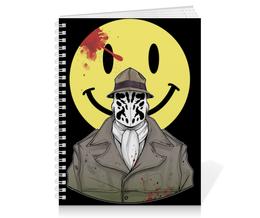 "Тетрадь на пружине ""Роршах"" - хранители, dc comics, роршах, rorchach, watchmen"