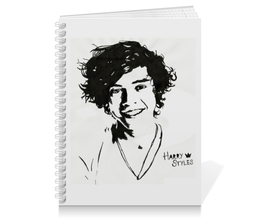 "Тетрадь на пружине ""One Direction"" - гарри стайлс, лиам пейн"