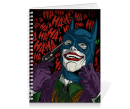 "Тетрадь на пружине ""Отряд Самоубийц: Джокер"" - joker, джокер, фэн-арт, отряд самоубийц, suicide squad"