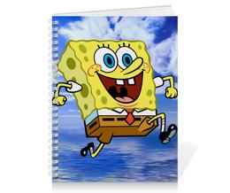 """Тетрадь на пружине """"Спанч Боб"""" - спанч боб, spongebob, spongebob squarepants, squarepants"""