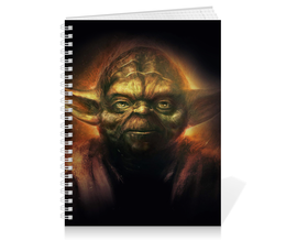 "Тетрадь на пружине ""Йода (Yoda)"" - star wars, yoda, звездные войны, йода, стар варс"