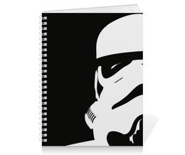 "Тетрадь на пружине ""Штурмовик"" - star wars, звездные войны, stormtrooper, дарт вейдер, стар вар"