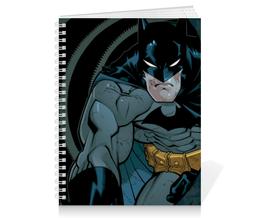 "Тетрадь на пружине ""Бэтмен"" - комиксы, batman, бэтмен, dc, dc comics"