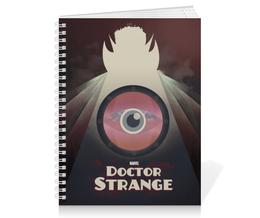 """Тетрадь на пружине """"Доктор Стрэндж"""" - comics, комиксы, марвел, doctor strange, dr strange"""