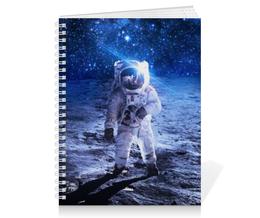 "Тетрадь на пружине ""Космос"" - space, космос, наука, марс, thespaceway"