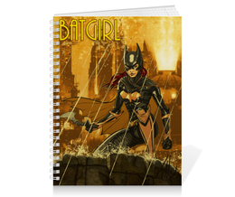 "Тетрадь на пружине ""Batgirl"" - арт, рисунок, комиксы, бэтмен, бэтгерл"