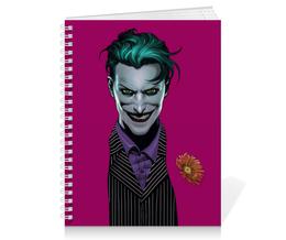 """Тетрадь на пружине """"Джокер"""" - комиксы, бэтмен, dc comics, joker, batman"""