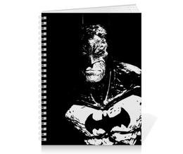 "Тетрадь на пружине ""Бэтмен"" - batman, бэтмен, dc, dc comics, бэтс"