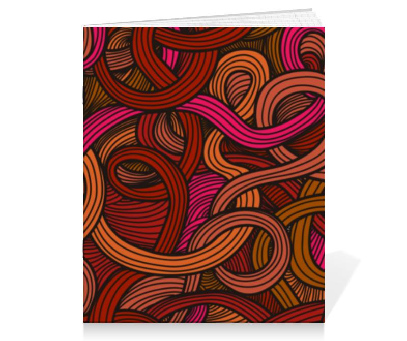 Тетрадь на скрепке Printio Абстрактная цена