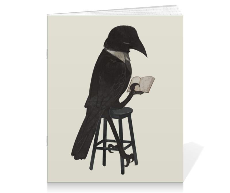 Printio Читающий ворон сумка printio буква с читающий мальчик книга