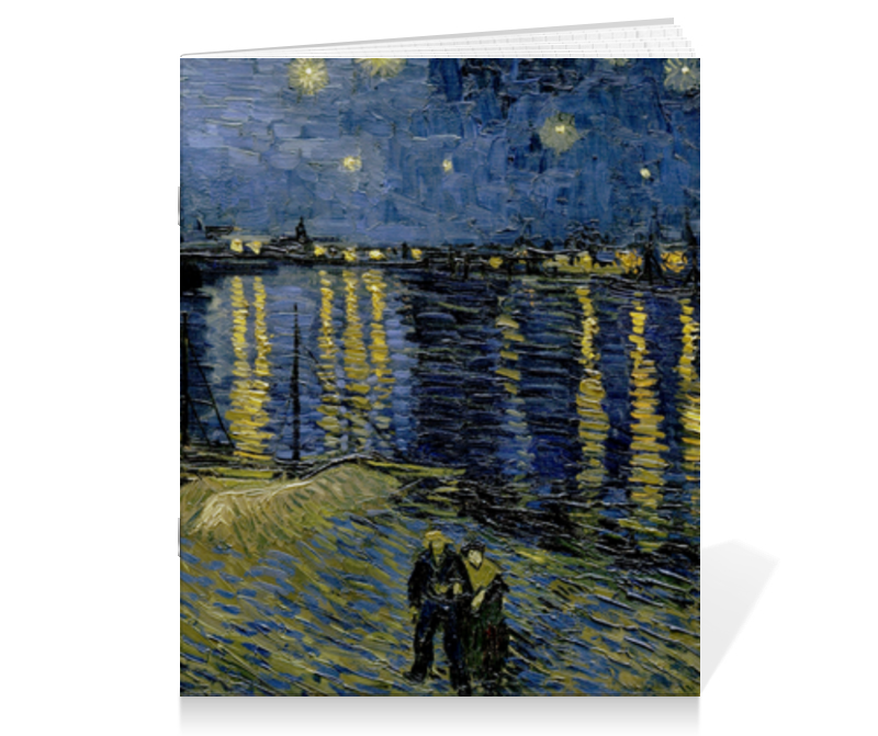 Printio Звёздная ночь над роной (винсент ван гог) пазл 73 5 x 48 8 1000 элементов printio звёздная ночь над роной винсент ван гог