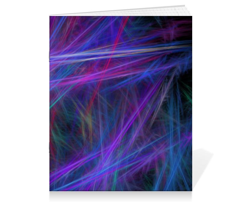 Фото - Тетрадь на скрепке Printio Абстрактный дизайн тетрадь на скрепке printio цветная абстракция