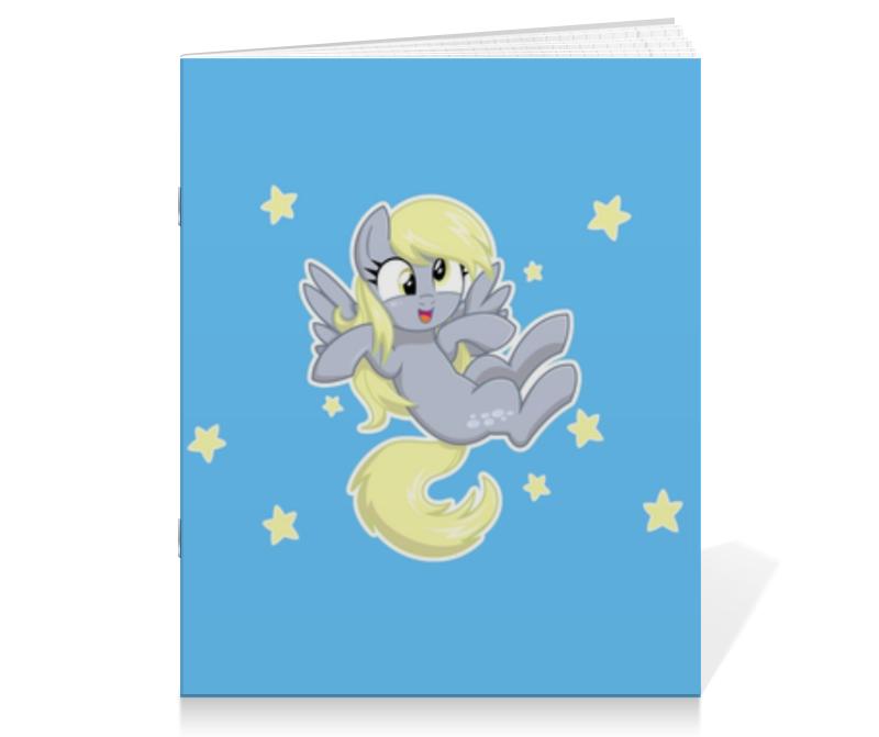 Тетрадь на скрепке Printio My little pony (derpy) тетрадь на скрепке printio пони pony