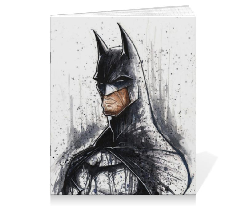 Тетрадь на скрепке Printio Бэтмен тетрадь на скрепке printio бэтмен