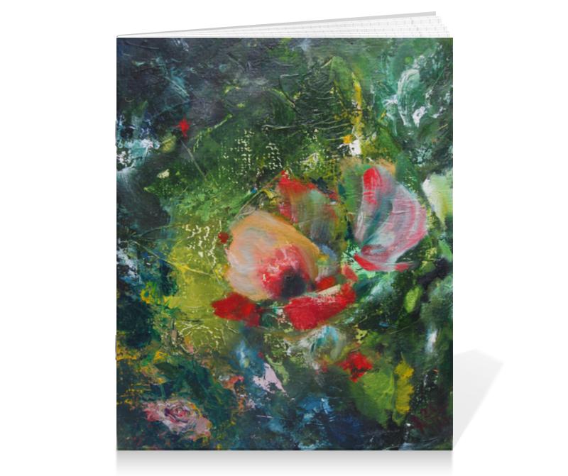 Тетрадь на скрепке Printio Южный ветер тетрадь на скрепке printio тетрадь пейзаж из серии акварель 2015