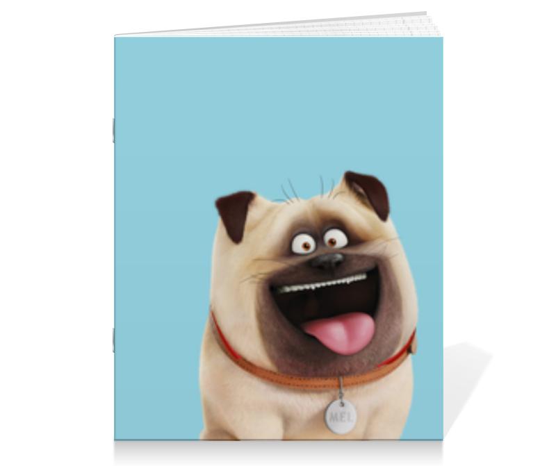 Тетрадь на скрепке Printio Мэл (mel) тетрадь на скрепке printio тайная жизнь домашних животных