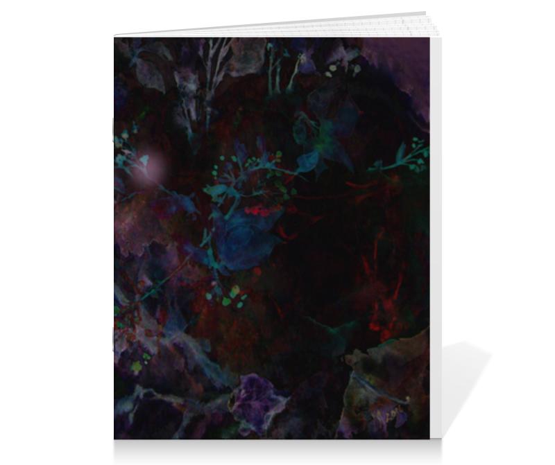 Тетрадь на скрепке Printio Ночь-2 тетрадь на скрепке printio абстракция