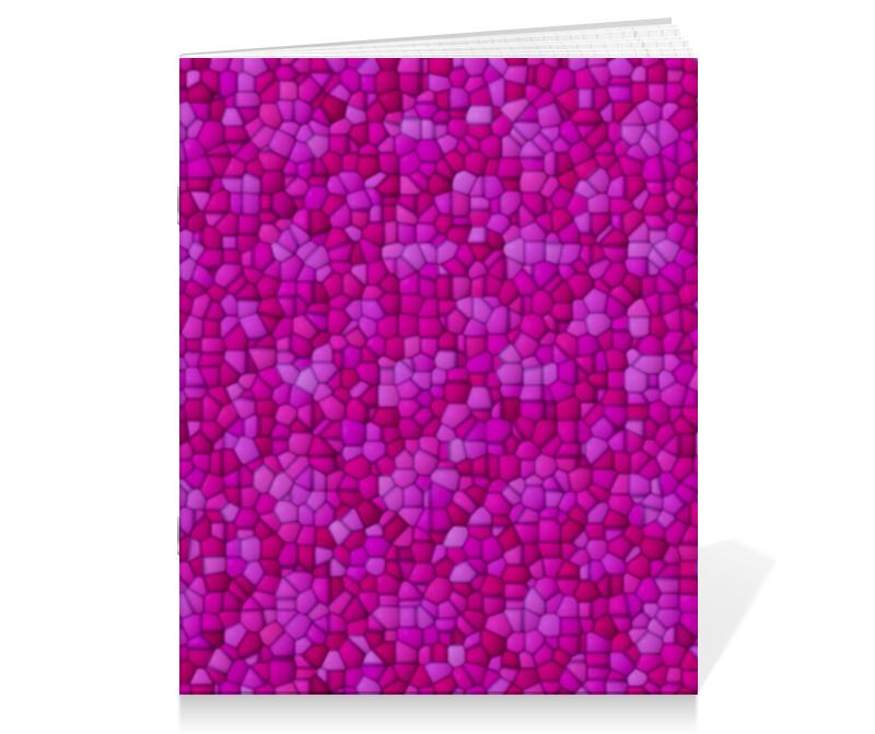 Тетрадь на скрепке Printio Purple тетрадь на скрепке printio тетрадь замок