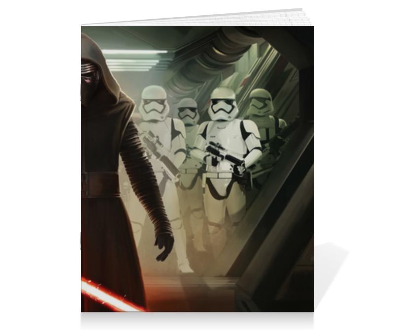 Тетрадь на скрепке Printio Звездные войны тетрадь на скрепке printio звёздные войны
