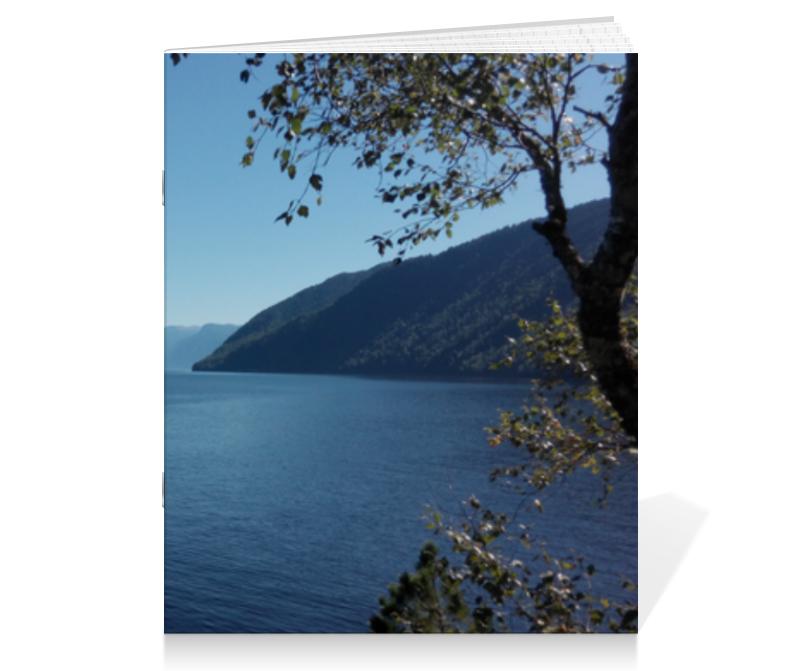 Тетрадь на скрепке Printio Удивительный алтай тетрадь на скрепке printio озеро сергей виноградов