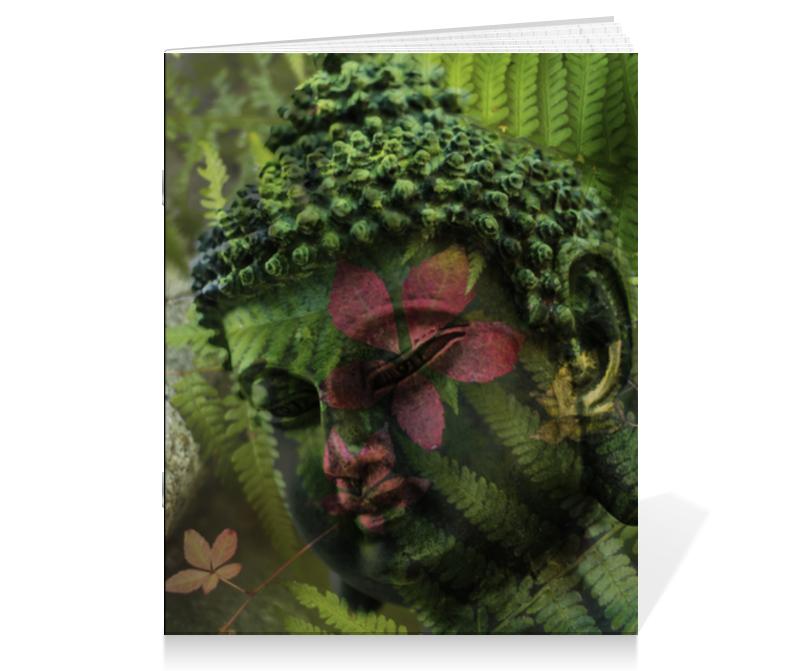 Тетрадь на скрепке Printio Будда цена