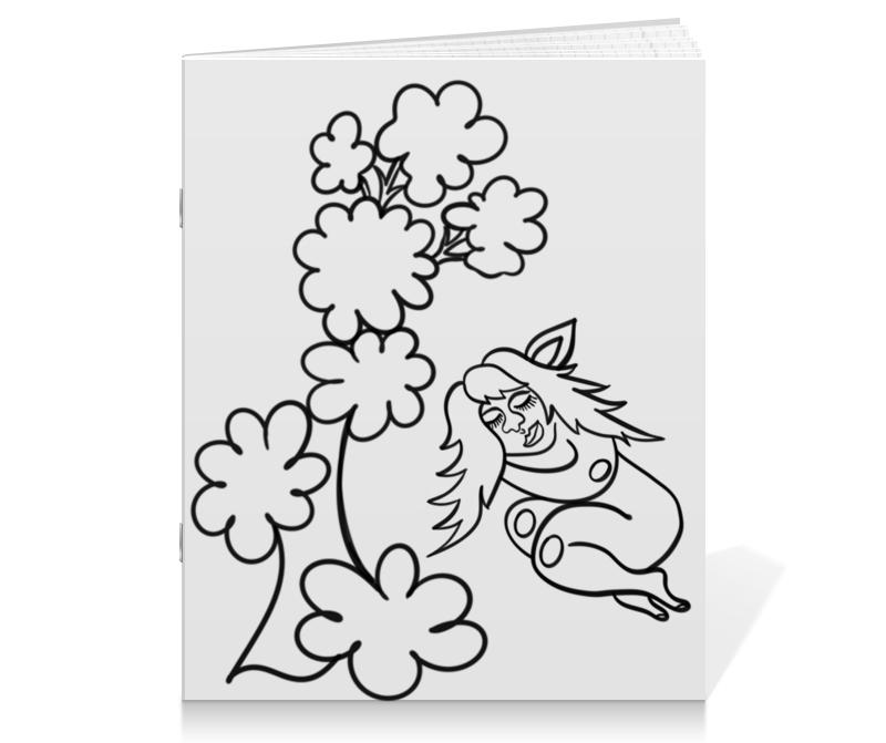 Тетрадь на скрепке Printio Дремлющая троллита тетрадь на скрепке printio девушка с жемчужной серёжкой ян вермеер