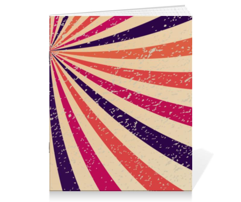 Тетрадь на скрепке Printio Винтажная радуга кружка радуга 305мл фарфор