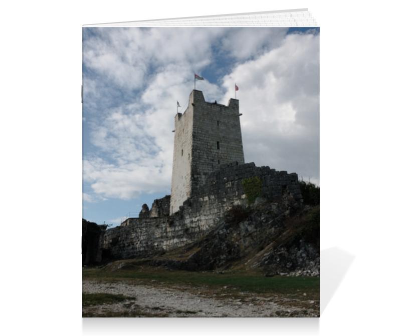 Тетрадь на скрепке Printio Тетрадь замок