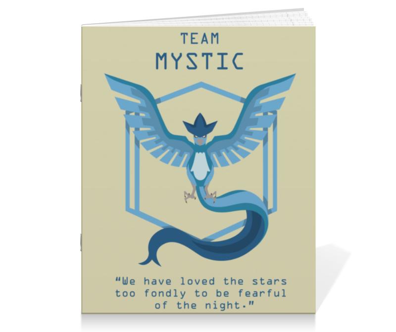 Тетрадь на скрепке Printio Team mystic кепка printio team mystic
