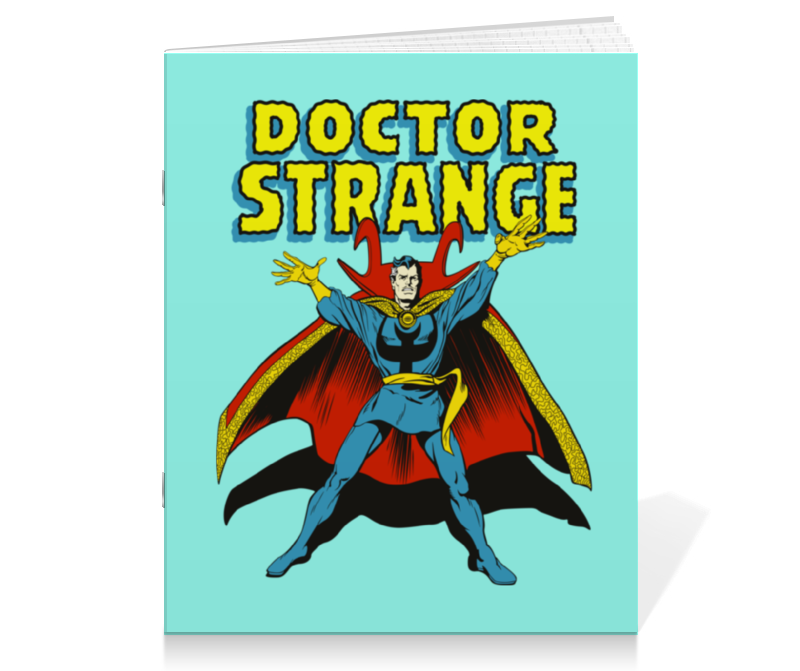 Тетрадь на скрепке Printio Доктор стрэндж