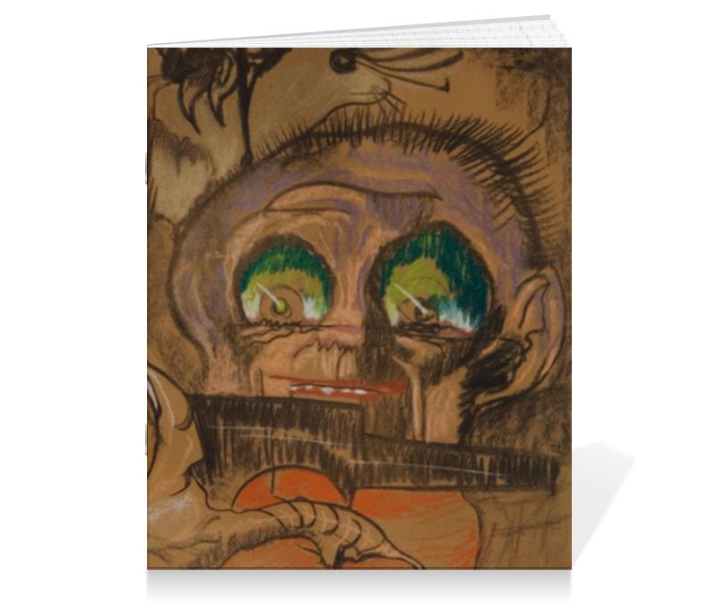Тетрадь на скрепке Printio Композиция зеленые глаза (станислав виткевич) фэг томаты соленые зеленые 1000 г