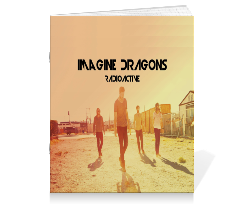 Тетрадь на скрепке Printio Imagine dragons imagine dragons imagine dragons night visions