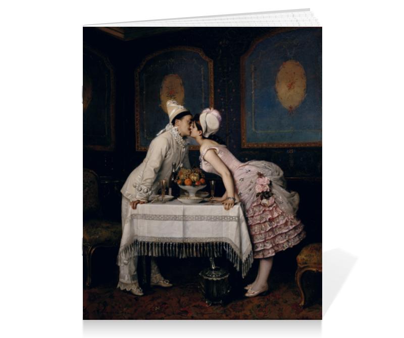 Тетрадь на скрепке Printio Поцелуй (огюст тульмуш) тетрадь на скрепке printio поцелуй франческо айец