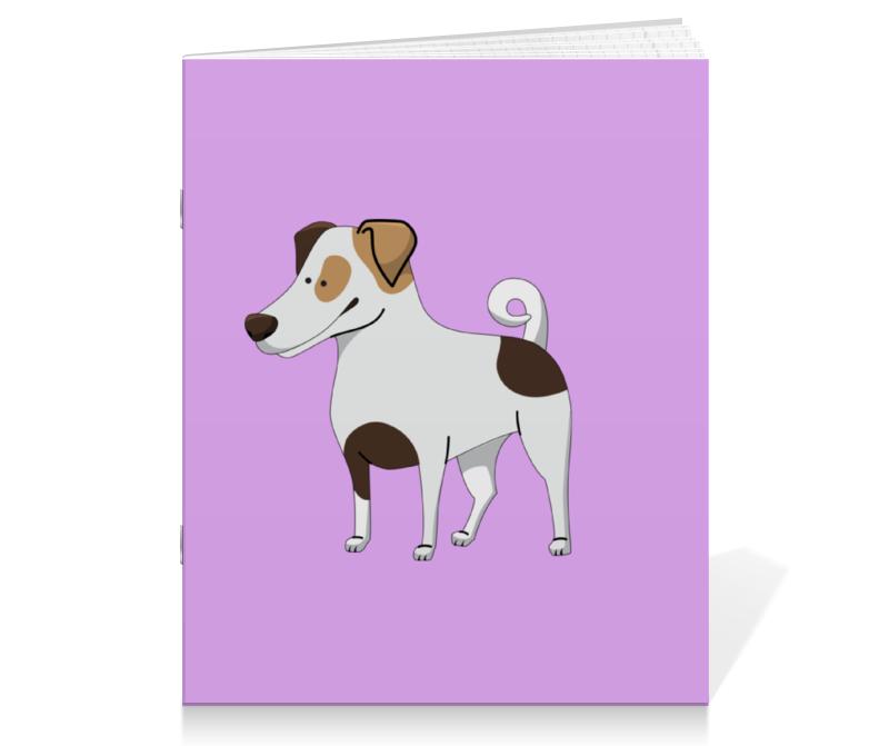 Тетрадь на скрепке Printio Джек рассел.собака джек восьмеркин американец 2 dvd