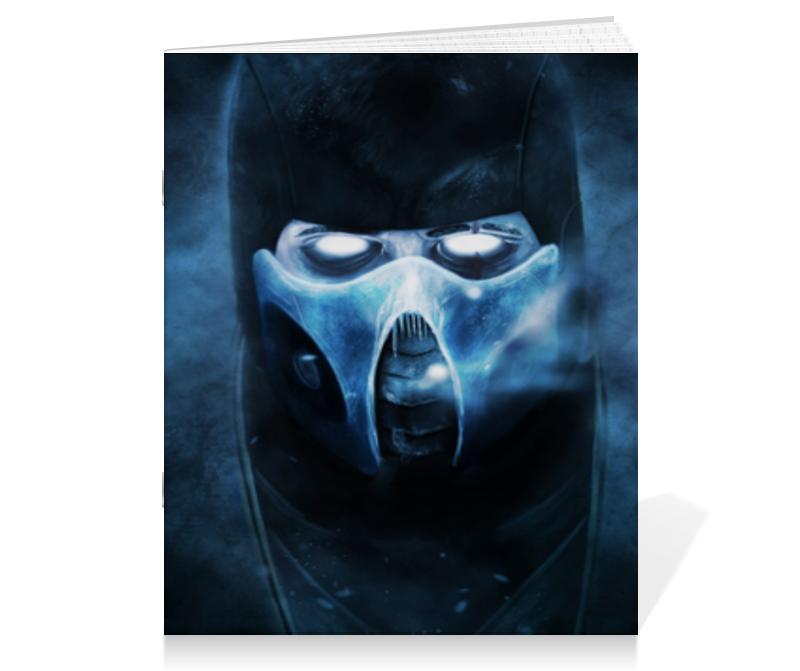 Тетрадь на скрепке Printio Mortal kombat тетрадь на скрепке printio тетрадь замок