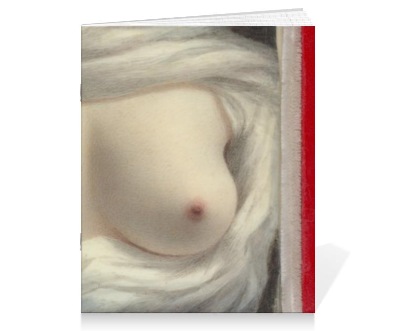 Тетрадь на скрепке Printio Выявленная красота (картина сары гудрич) тетрадь на скрепке printio княжна тараканова картина флавицкого