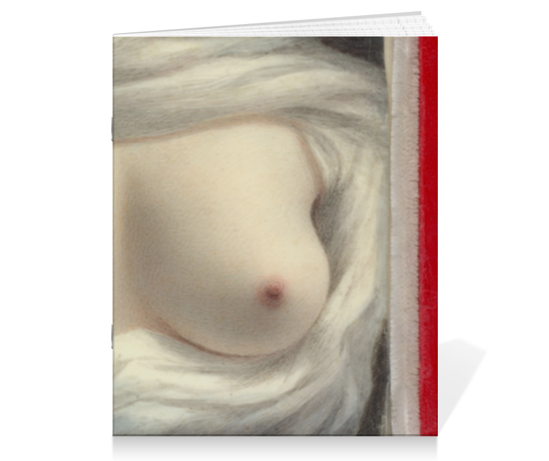 Тетрадь на скрепке Printio Выявленная красота (картина сары гудрич)