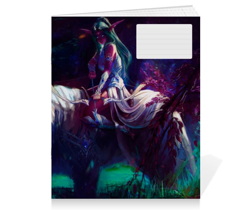 Тетрадь на скрепке Printio Warcraft collection тетрадь на скрепке printio медведь