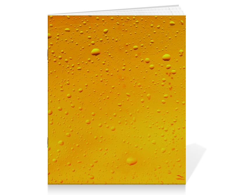 Тетрадь на скрепке Printio Beernotebook тетрадь на скрепке printio медведь