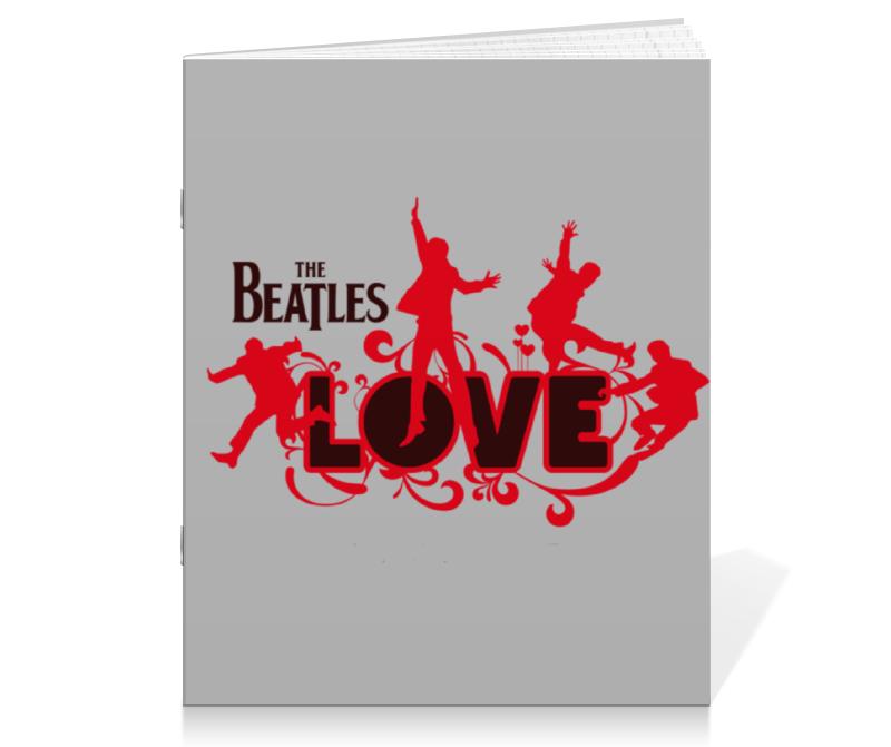 Тетрадь на скрепке Printio Beatles тетрадь на скрепке printio медведь
