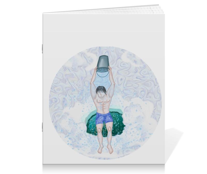 Тетрадь на скрепке Printio Обливание ледяной водой и и лажечников ледяной дом