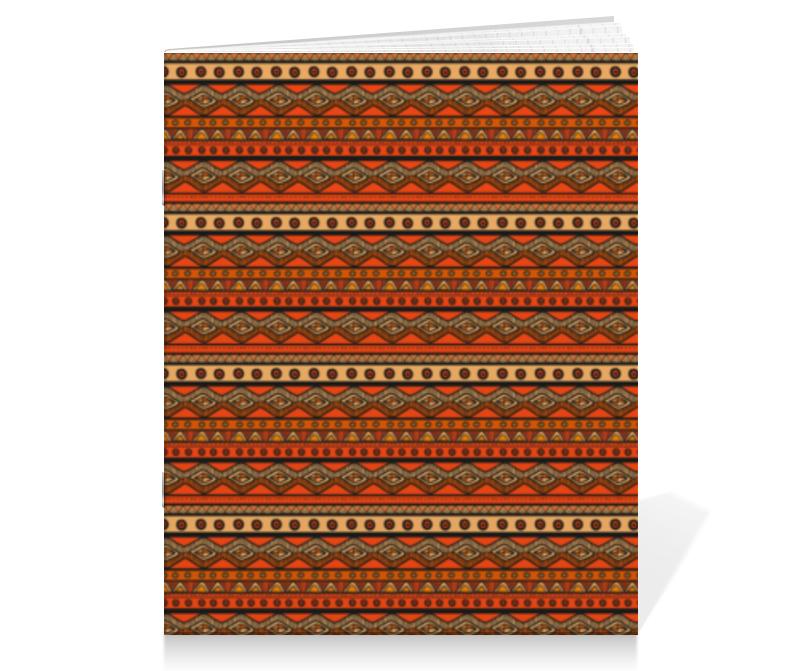 Тетрадь на скрепке Printio Абстрактный этнический набор мёда peroni коллекция вкусов premium 12 x 30 мл