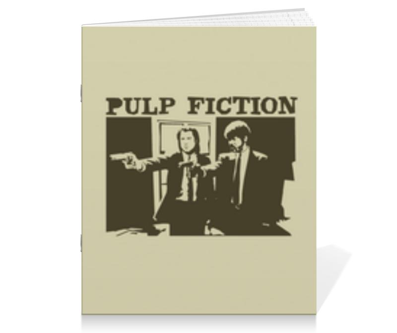 Тетрадь на скрепке Printio Pulp fiction тетрадь на скрепке printio медведь